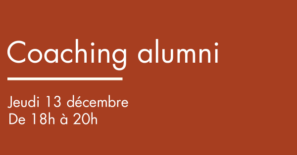 Coaching alumni - insertion professionnelle